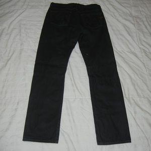 Diesel Jeans - Diesel Button Fly Black Denim Jeans men's 31 X 32